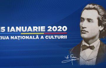 Ziua națională a culturii și 170 ani de la…