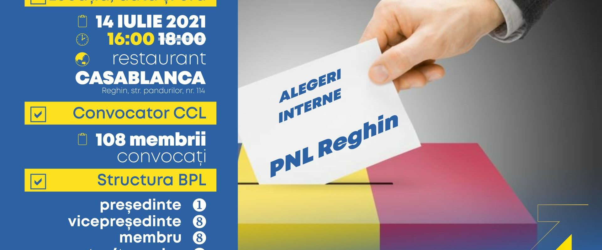 Alegeri interne 2021